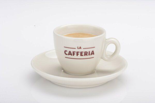 Filiżanka do espresso z talerzykiem La Cafferia