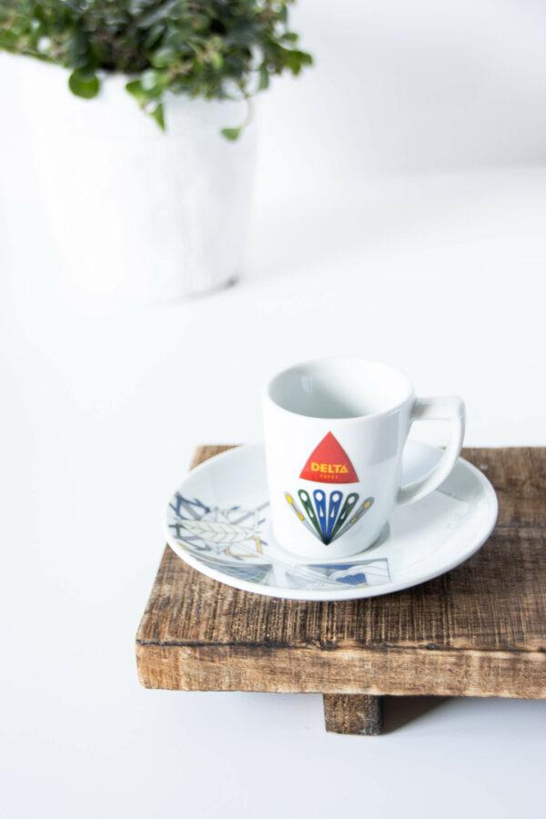 DELTA - filiżanka do espresso z talerzykiem SHIELD. Edycja limitowana