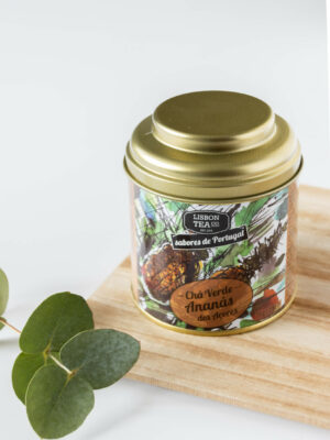 Herbata zielona z ananasem z Azorów 75g LISBON TEA