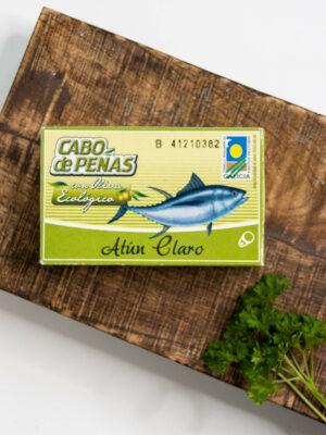 Tuńczyk w organicznej oliwie z oliwek extra virgin 111g CONNORSA