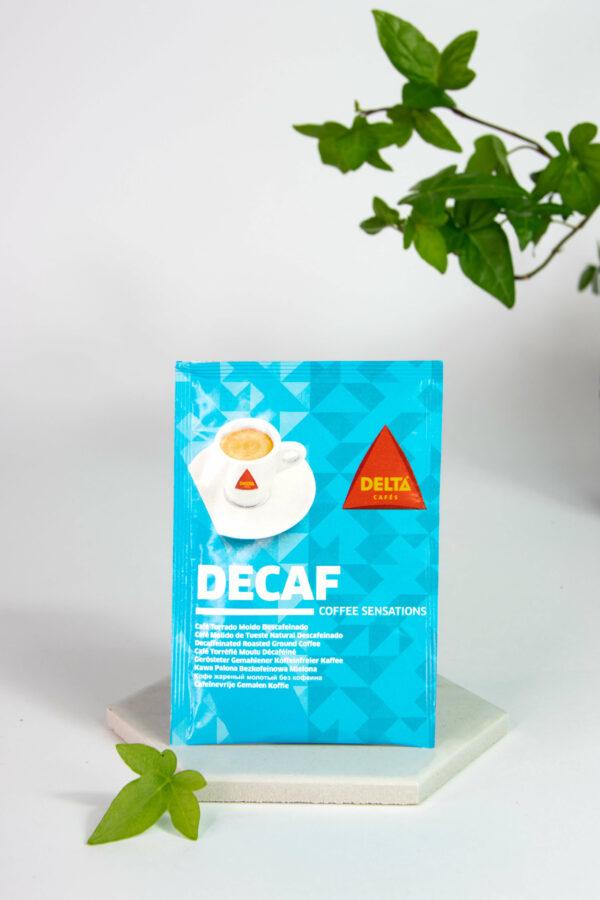 DELTA - kawa mielona DECAF saszetka 6.5g